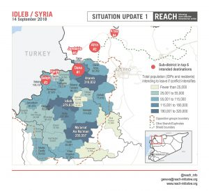 SYR_Map_ Total population expected to leave if conflict intensifies in Idleb_September 2018