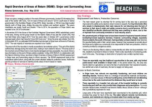 IRQ_Rapid Overview of Areas of Return (ROAR)_Sinjar and Surrounding Areas_June 2018
