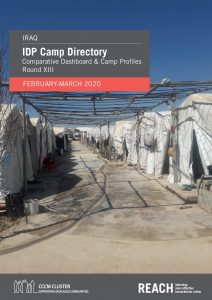 IDP Camp directory comparative dashboard and camp profiles, Iraq, round XIII - March 2020