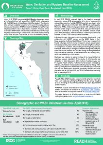 BGD_Factsheet_Wash HH Survey Camp 7_April 2018
