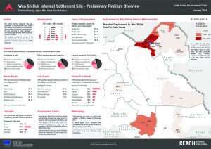 SSD_Factsheet_Wau Shilluk Preliminary Findings Overview_January 2015