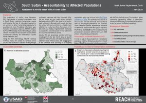Accountability to Affected Populations Factsheet, South Sudan, June 2020