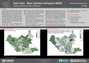 Assessment of Hard to Reach Areas WASH June 2020