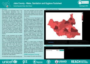 SSD_WASH Baseline Factsheets_Greater Equatorias July-August 2018