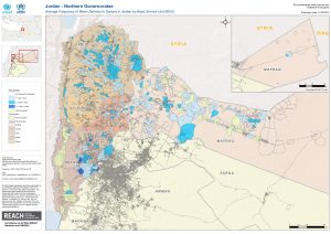 JOR_Syrians in Host Communities Frequency of Water Delivery_Apr 2013