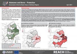 Hard-to-Reach Assessment in Northeast Nigeria: Protection factsheet - April 2021