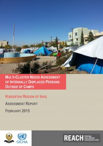 IRQ_Report_Multi-Cluster Needs Assessment of Internally Displaced Persons Outside Camps_February 2015