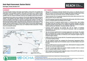 SOM_Situation Overview_Gedo Rapid Needs Assessment - Doolow District_November 2017