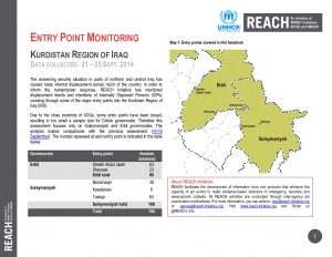 IRQ_factsheet_Entry Point Monitoring 21 to 25 september 2014