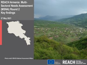 2021 Multi-Sector Needs Assessment (MSNA) in Armenia, preliminary findings presentation - May 2021