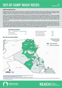 Iraq Out-of-Camp WASH Needs Factsheets - December 2019