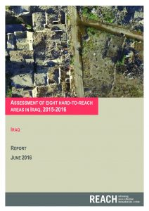 IRQ_Report_Assessment of eight hard-to-reach areas in Iraq_July 2016