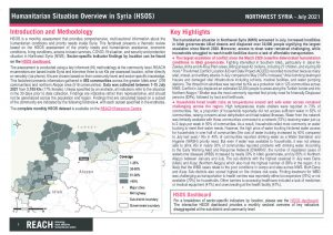 Humanitarian Situation Overview in Northwest Syria – July 2021