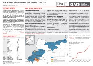Northwest Syria Market Monitoring Situation Overview - February 2021