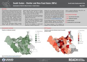 Assessment of Hard to Reach Areas, Monthly Sectoral Factsheet - Shelter, May 2021