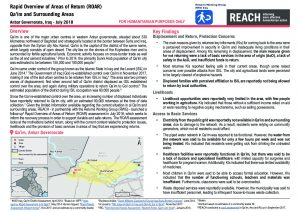IRQ_Situation Overview_ROAR Qaim and Surrounding Areas_July 2018