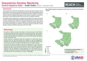 Humanitarian Situation Overview of hard-to-reach settlements in Central Equatoria State, South Sudan, October-December 2020