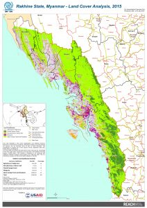 Rakhine State, Myanmar - Land Cover Analysis, 2015