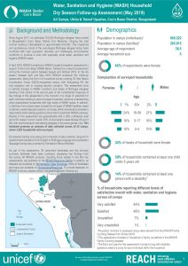 BGD_Factsheet_WASH Household Dry Season Assessment_All_Camps_May2019