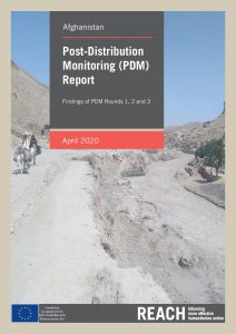 Post-Distribution Monitoring (PDM) Report, Afghanistan, April 2020