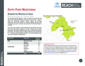 IRQ_Factsheet_Entry Point Monitoring 19 to 23 October 2014