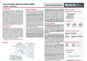 Libya Joint Market Monitoring Initiative (JMMI) Situation Overview - February 2021