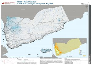 REACH YEM MAP RunoffPotential20y National 03June2020 A0 EN V1