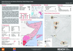 KEN_Factsheet_Intentions Monitoring Dadaab Refugee Camps_November 2017