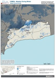 YEM Map Shelter Winter Weatherization All Governorates, 26 June 2019
