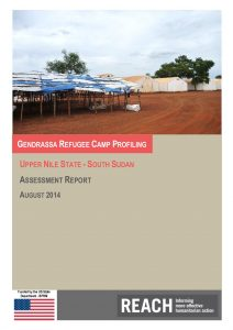 SSD_Gendrassa_Report_RefugeeCampProfile_Aug2014