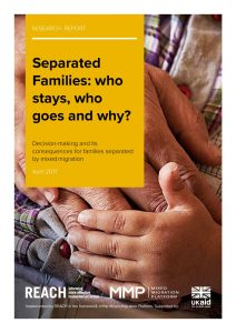 MENA_Report_Separated Families: Who Stays, Who goes and why_April 2017