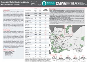 Yemen Joint Market Monitoring Initiative, Situation Overview - March 2021