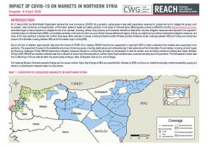 Impact of COVID-19 on markets in Northern Syria situation overview - Snapshot 6-9 April 2020
