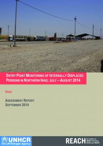 IRQ_Assessment Report_Entry Point Monitoring July to August 2014