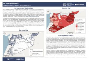 Syrian Arab Repulic Quarterly Needs Analysis (QNA) situation overview - March 2021