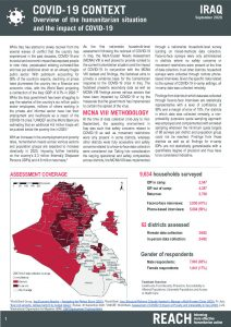 Multi-Cluster Needs Assessment (MCNA) VIII COVID-19 Context Factsheet, Iraq - September 2020