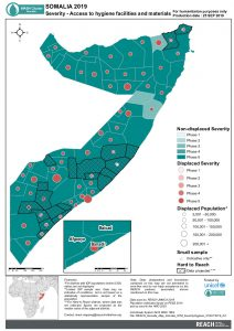 REACH Somalia Map Somalia STM SeverityHygiene 25SEP2019 A4